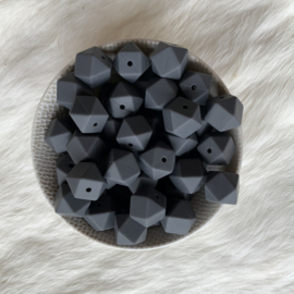 Small hexagon - anthracite