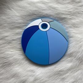 strandbal bijtfiguur - blauw tinten