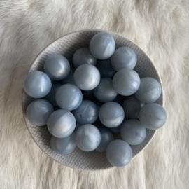 19mm - parelmoer grijs