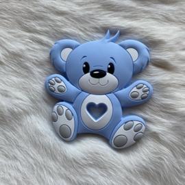 Bear teether - soft blue