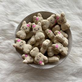 Happy llama bead - navajo