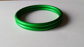 Slingrings size L - matte green