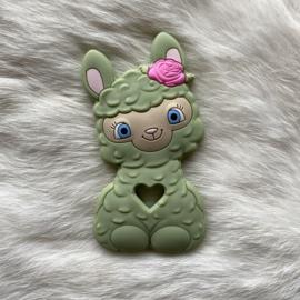 Happy llama bijtfiguur - lint 2