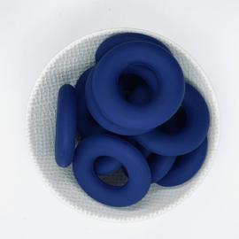 Donut ring - sapphire blauw
