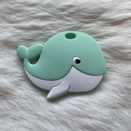 Blije walvis figuur - mint