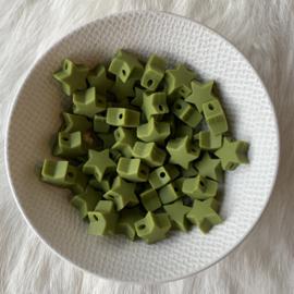 Kleine ster - leger groen