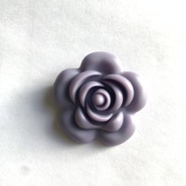 Grote bloem - donker lila