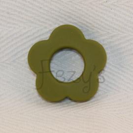 Bloemen hanger - leger groen