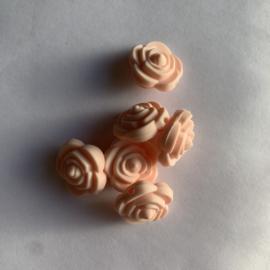 Kleine bloem - zacht perzik