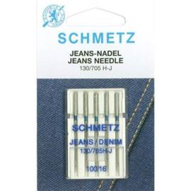 Naaimachine naalden Schmetz - Jeans nr 100