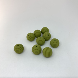 15mm striped - army green