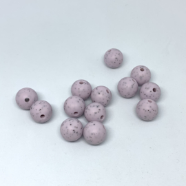12mm - lila dalmatier