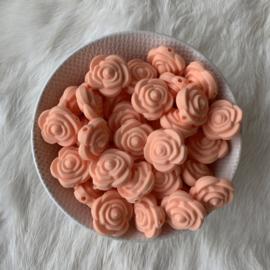 Kleine bloem - licht perzik