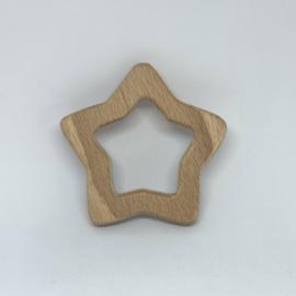 Houten hanger - ster lijn