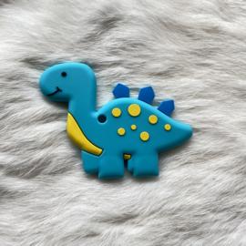 Brachiosaurus bijtfiguur - turquoise