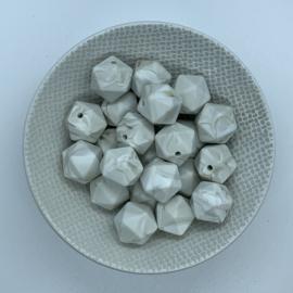 Kleine icosahedron - warm marmer