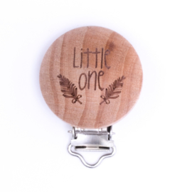 Speenclip hout - little one