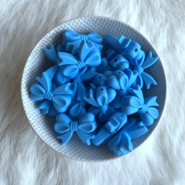 Strikje - hemels blauw