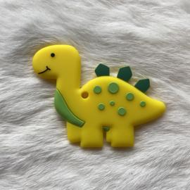 Brachiosaurus bijtfiguur - geel