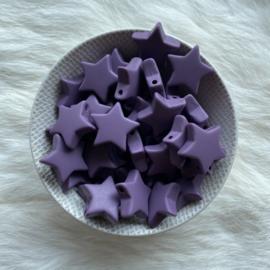 Star M - antique purple