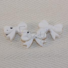 Strikje - wit dalmatier