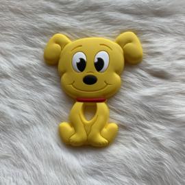 Dog teether - yellow