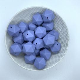 Icosahedron 17mm - donker serenity