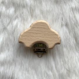 Speenclip hout - auto