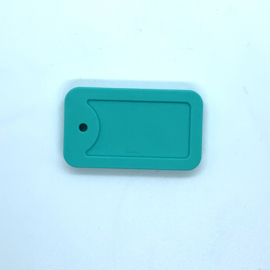 Dogtag - turquoise