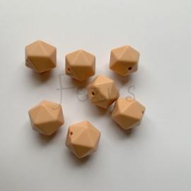Icosahedron 17mm - perzik