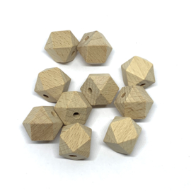 Houten hexagon - 16mm (beuk)