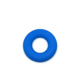 Donut ring - jeansblauw