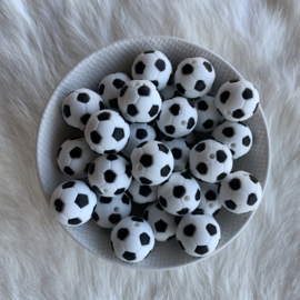 Speenclip siliconen - voetbal