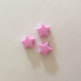 Small star - baby pink