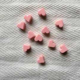 Small heart - light pink