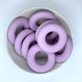 Donut ring - licht lavendel