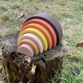 Over The Rainbow stapel regenboog - aarde