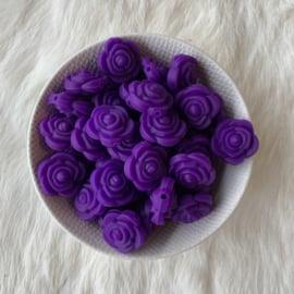 Kleine bloem - donker paars