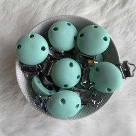 Speenclip siliconen KLEIN - mint