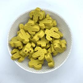 Cactus kraal - mosterd geel