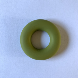 Donut ring - legergroen