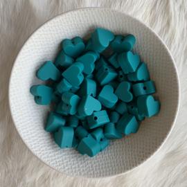 Klein hartje - emerald
