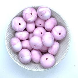 Abacus - marmer zacht roze