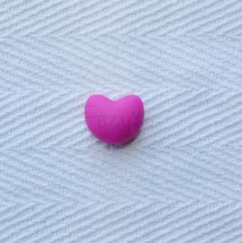 Heart - fuchsia