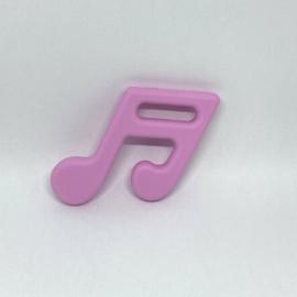 Muzieknoot - baby roze