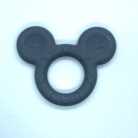 Mickey mouse ring - donkerder grijs