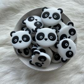 Panda head bead