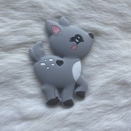 Deer teether - grey