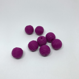 15mm striped - magenta
