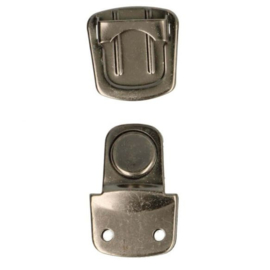 Portemonnee sluiting - middel (oud zilver)